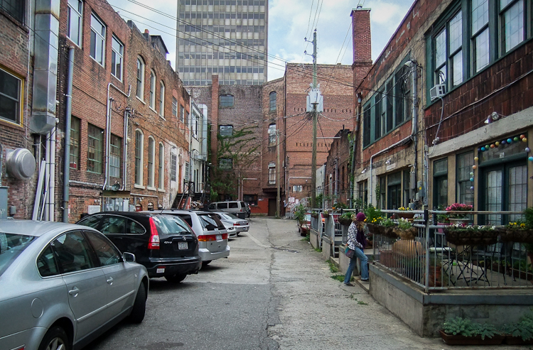 Ashville, NC Back Alley