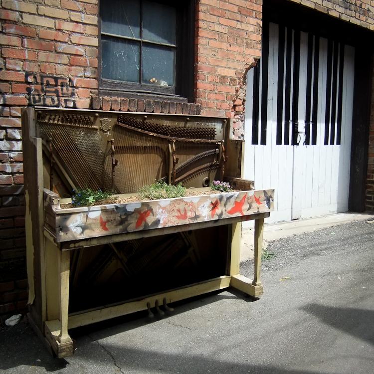 Piano Garden: Asheville, NC