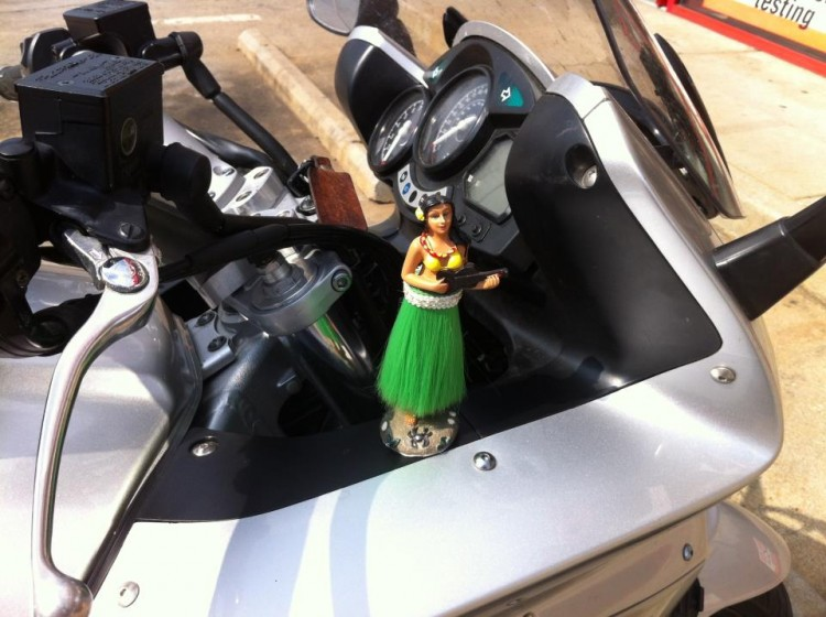 Hula girl on an FJR 1300?  I say YES!